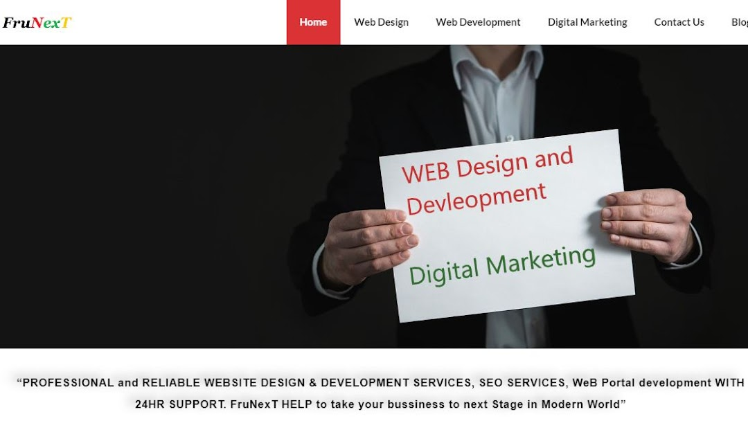 FruNext - Web Design and Development Company in Chennai and