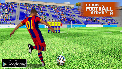Flick Football Strike: FreeKick Soccer Games screenshot 1