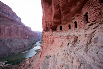 Photo: View from Nankoweap overlook while rafting the Grand Canyon. Grand Canyon National Park, AZ.