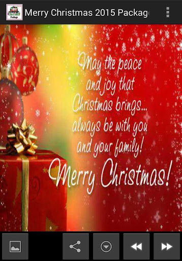 Merry Christmas 2015 Package