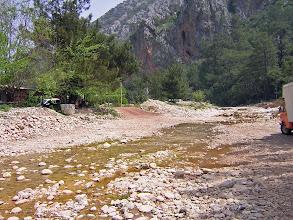 Photo: Crossing the river to old Olympos ********** De rivier over op weg naar het antieke Olympos