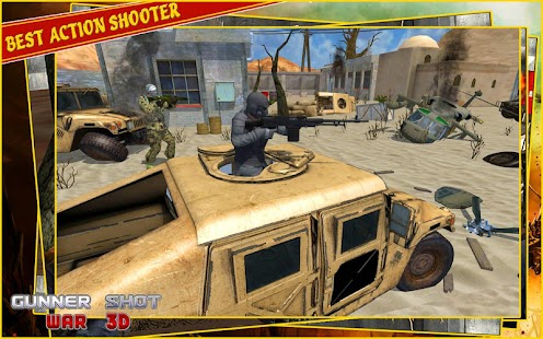 Grand Gunner War Shooter 3d - náhled