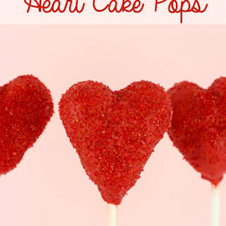Heart Cake Pops.