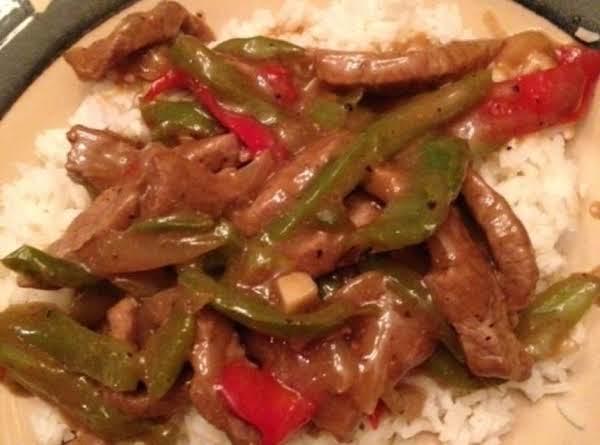 Peppered Steak Recipe