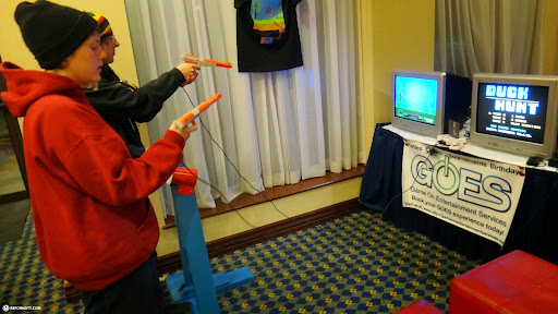 DUCK HUNT competition in Toronto, Ontario, Canada