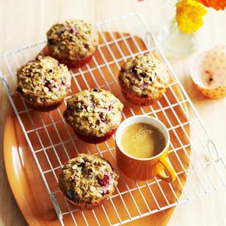 Muesli Raspberry Muffins.
