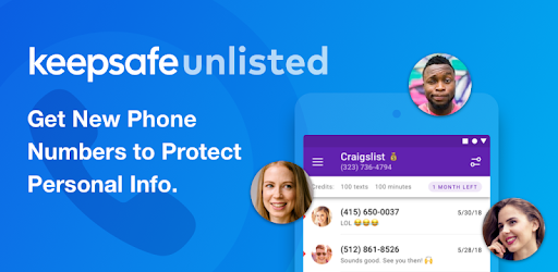 Keepsafe Unlisted - Second Phone Number - Apps on Google Play