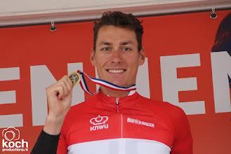 Photo: 25-06-2017: Wielrennen: NK weg elite: MontferlandRamon Sinkeldam (Team Sunweb) wint NK Elite voor Wouter Wippert (Cannondale Drapac Pro CT) en Dylan Groenewegen (Lotto NL Jumbo), podium