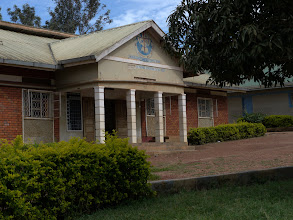 Photo: Primary school administration building.