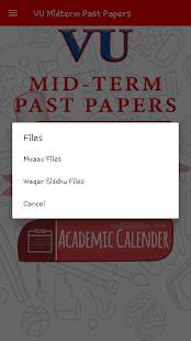 VU Mid-Term Past Papers - náhled