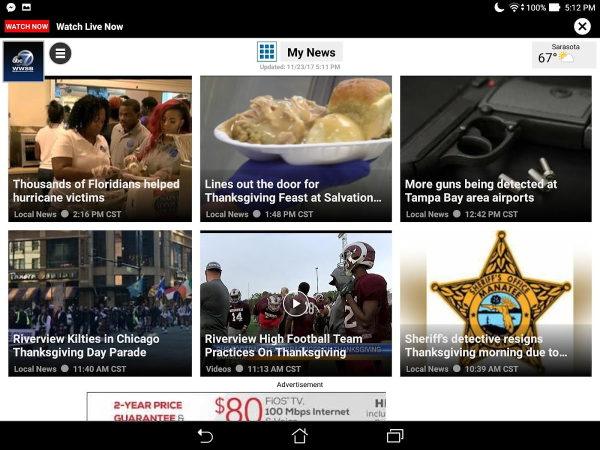 ABC 7 Tampa Area News App- screenshot