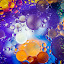 by Bonnie Filipkowski - Abstract Water Drops & Splashes ( abstract, oil,  )