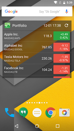 Stocks - Realtime Stock Quotes 2.6.2.2 screenshot 237163