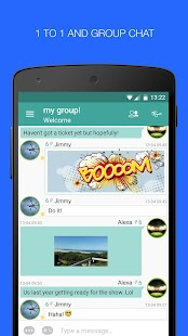 Palringo Group Messenger- screenshot thumbnail