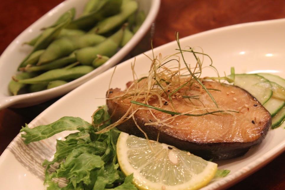 Grilled Black Cod dressed with vegetables