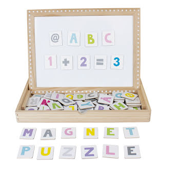 Magnet plate ABC