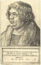 Photo: Albrecht Dürer (German, 1471 - 1528 ), Willibald Pirckheimer, 1524, engraving on laid paper, Gift of C.G. Boerner, LLC