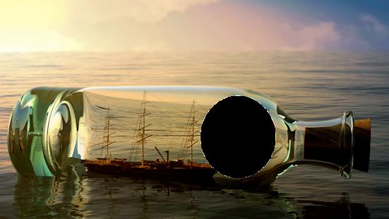 Cool Bottle Photo Frame - náhled