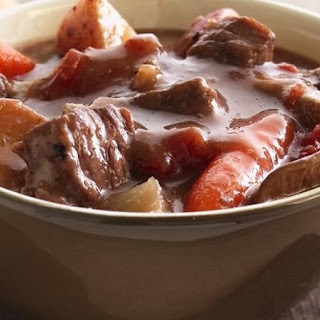 Slow-Cooker Beef Stew with Shiitake Mushrooms Recipe