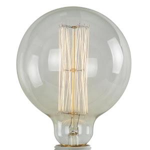 ampoule à filament globe style édison pour lampe en béton de la marque junny