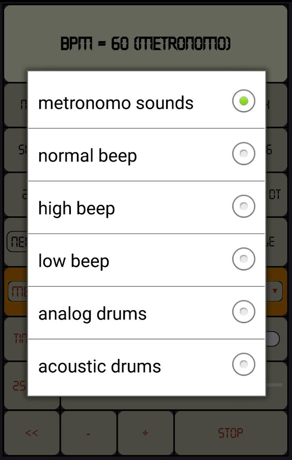 Real Drums Patterns (Live Metronome)- screenshot