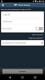 UFCU Mobile Banking- screenshot thumbnail