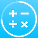 Math games: arithmetic, times tables, mental math icon