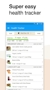 Fooducate Healthy Weight Loss & Calorie Counter - Android ...