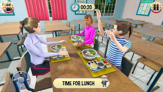 Virtual High School Girl Game 3D MOD (Unlimited Money) 1