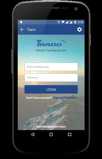 Trano Vehicle Tracking 1.7 screenshots 1