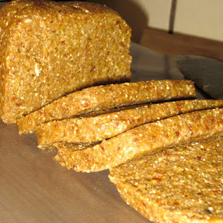 Raw Cardamon-Date-Cinnamon Bread