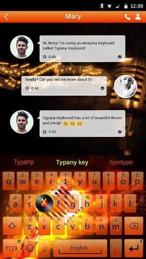 mod Happy Rhythm Emoji Keyboard 4.5 screenshots 2