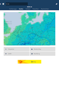 MSN Wetter Screenshot