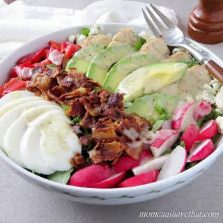 Cobb Salad - 6 Net Carbs.
