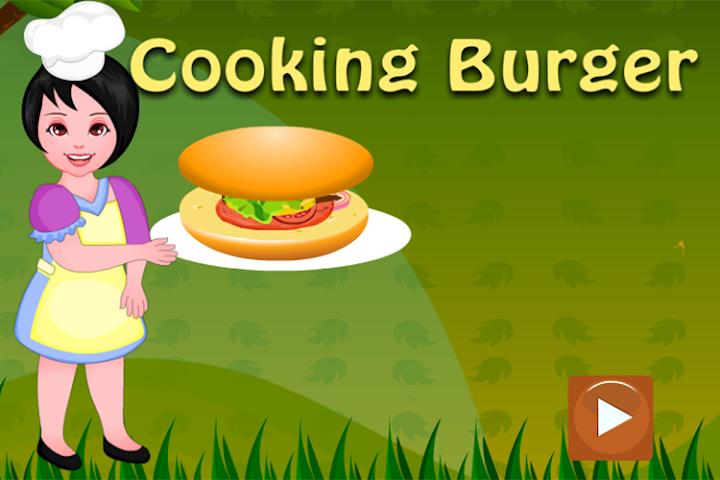 android Girls Cooking-Burger Screenshot 0