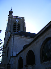 Photo: The Église St Georges in town was rebuilt between 1779 and 1781 by the Duke of Penthièvre, the last Count of Crécy, and last legitimate grandson of Louis XIV and Madame de Montespan. The steeple dates from the 13th century, with the balustrade on the top from the 17th.