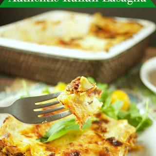 Authentic Italian Lasagna Recipe