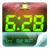 Alarm & Glow Digital Clock