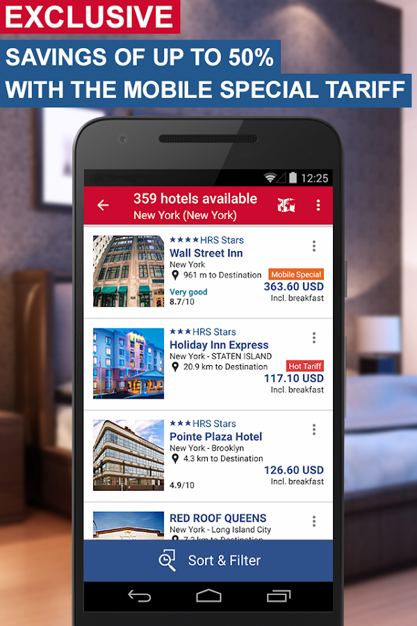 Hotel Search HRS (New)- screenshot