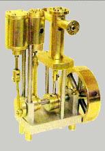 Photo: Pour la réalisation de ce moteur en 6 ex avec mes copains, j'ai décidé de fabriquer la bielle motrice  coulée en Kayem 1. Pour ce faire, voici la fab d'un moule métallique