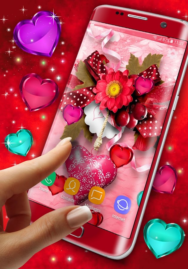 Valentine\'s Day Live Wallpaper - Android Apps on Google Play