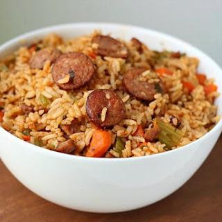 Easy Sausage Jambalaya Recipe