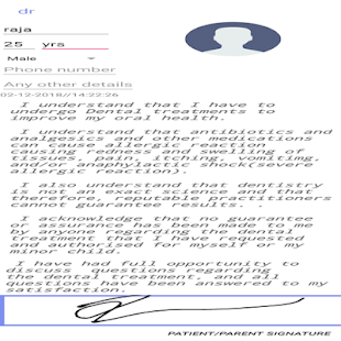 DentalConsent(Speciality) for PC-Windows 7,8,10 and Mac apk screenshot 4