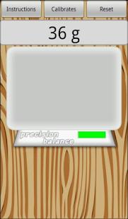 Precision digital scale- screenshot thumbnail