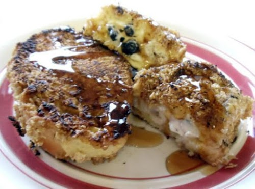 """Honey Blueberry Stuffed French Toast """"Very delicious even my picky daughter liked..."""