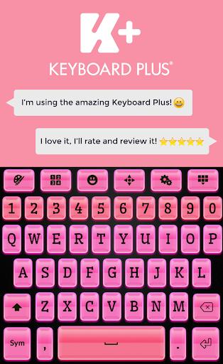 Keyboard Plus Pink Black