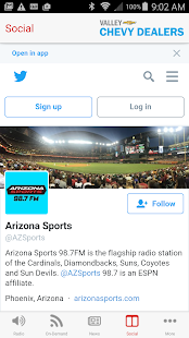 Arizona Sports 98.7 FM- screenshot thumbnail