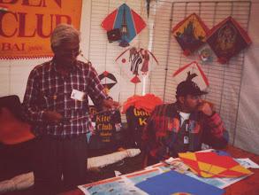 Photo: Babu Khan patang workshop