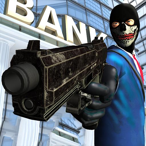 Street Bank Robbery 3D - best assault game