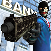 Street Bank Robbery 3D - best assault game